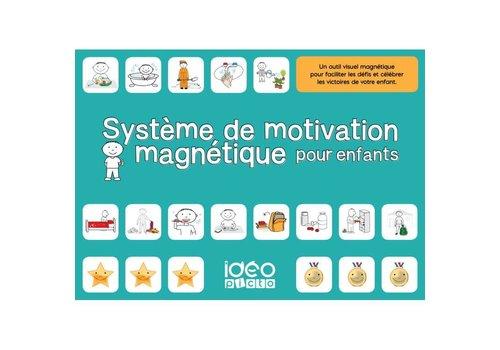 IdeoPicto Système de motivation magnétique pour enfants
