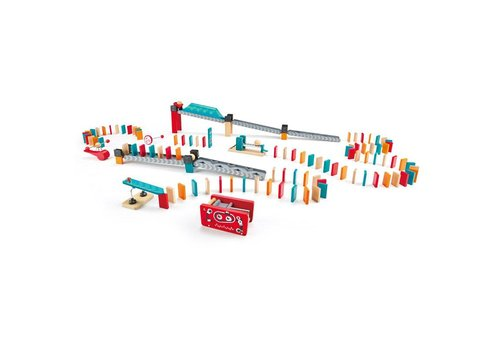 Hape Circuit de dominos: Usine Robot