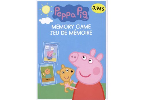 imagine publications Peppa Pig jeu de mémoire