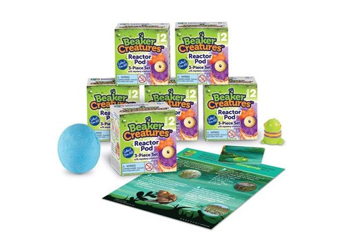 Learning Resources Beaker Creatures series 2 Reactor Pods