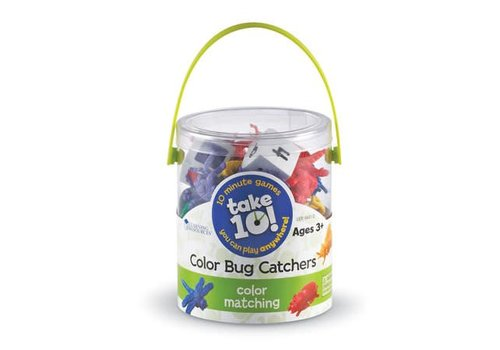 Learning Resources Take 10 ! Color Bug Catchers