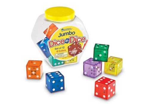 Learning Resources Jumbo Dice in Dice