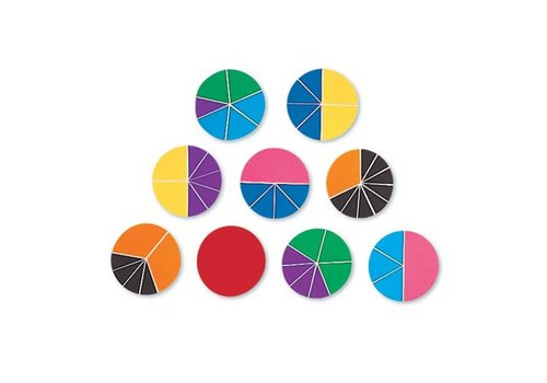 Learning Resources Rainbow Fraction Circles