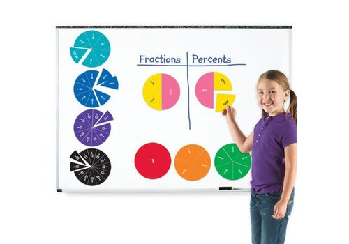 Learning Resources Double-Sided Magnetic Fractions Circles