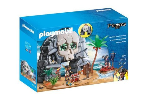 Playmobil Ile des pirates Transportable