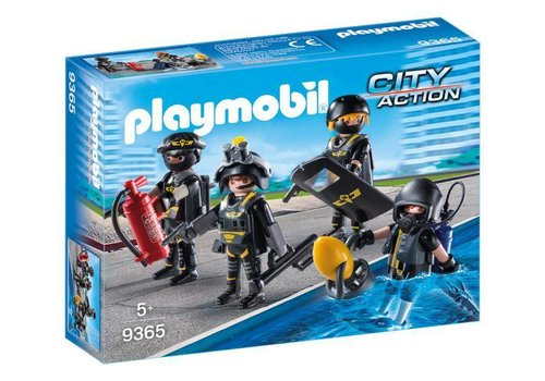 Playmobil Policiers d'elite
