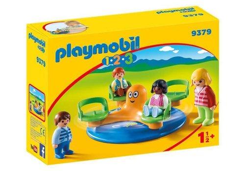 Playmobil Enfants et manege