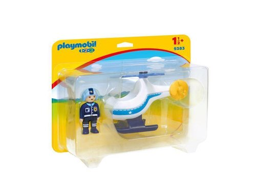 Playmobil Helicoptere de police