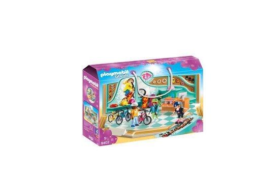 Playmobil Boutique de skate et velos
