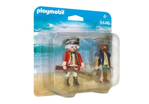 Playmobil Pirate et soldat