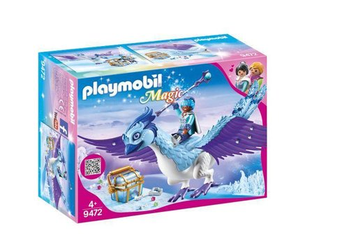 Playmobil Gardienne et Phenix