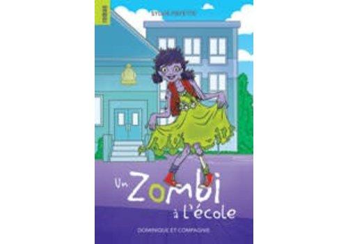 un zombi a l'école