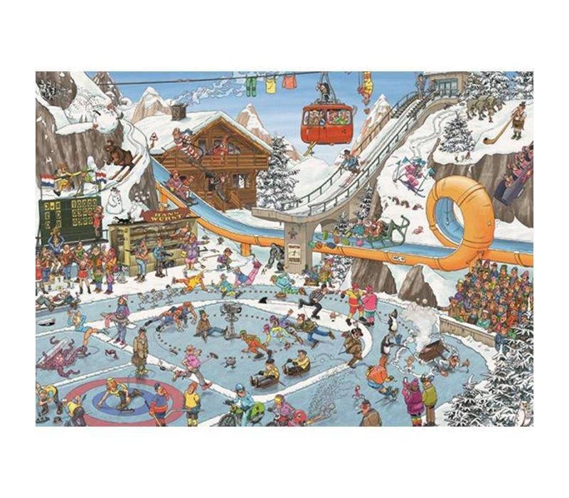 1000pc, Jeux d'hiver, JvH
