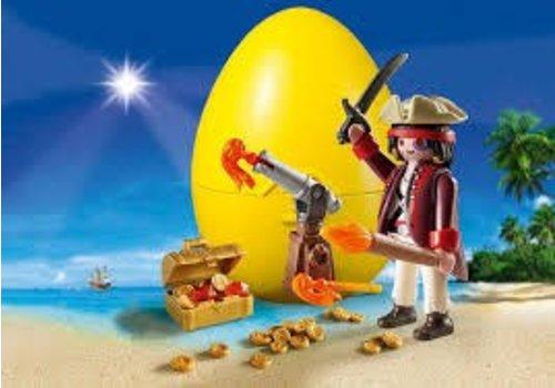 Playmobil Pirate avec canon et trésor