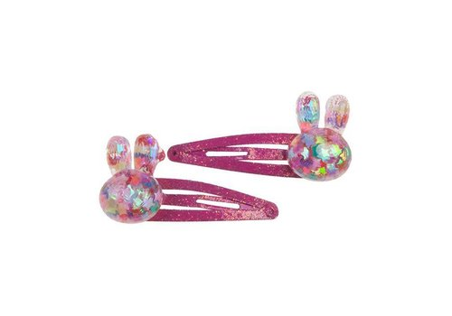 creative education Bunny Bling Hair Clips