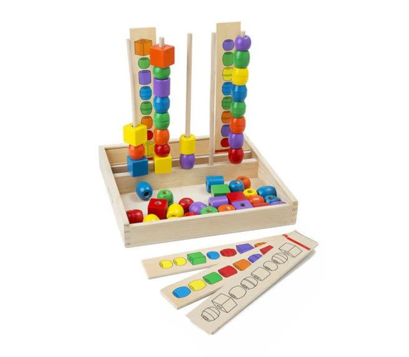 Bead Sequencing Set Classic Toy  / Jeu de billes séquences