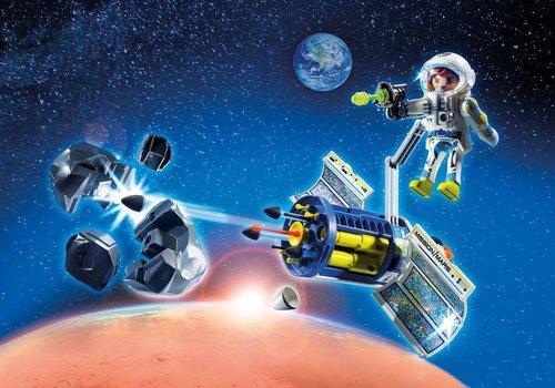 Playmobil Spationaute avec satellite et météorite