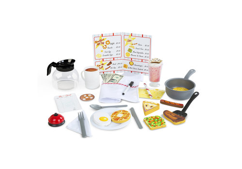 Melissa & Doug Star Dinner Restaurant Play Set