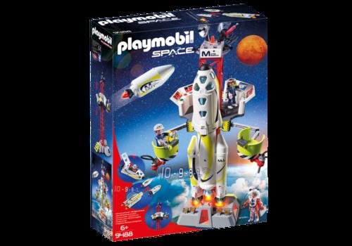 Playmobil Fusée Mars avec plateforme de lancement