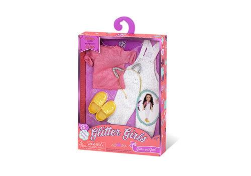 Glitter Girls Glitter Girls Ensemble De luxe Salopette pour poupée 36 cm