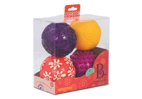 Battat / B brand Balles Oddballs 4 unités