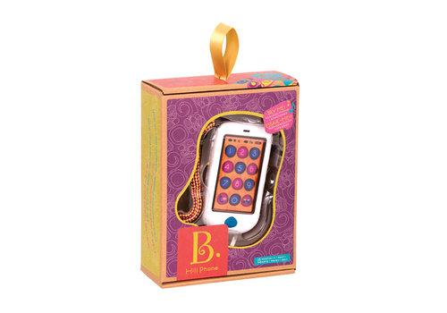 Battat / B brand B.Lively-Téléphone tactile Hiphone Blanc
