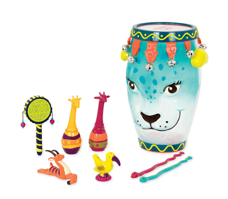 Tambour jungle avec instruments Jungle Ham