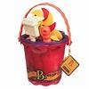 Battat / B brand Chaudière et accessoires Sand Ahoy! rouge