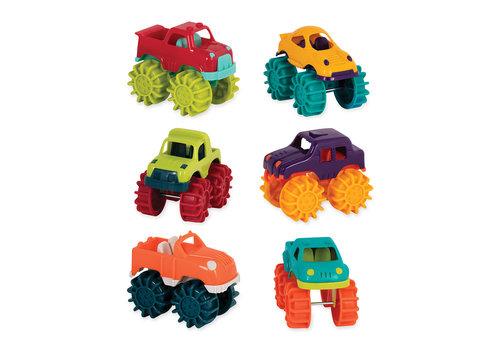 Battat / B brand Mini camions monstres 6 pièces