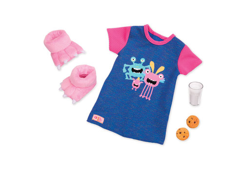 Our generation Pyjama Snuggle Monster pour poupée OG de 46 cm
