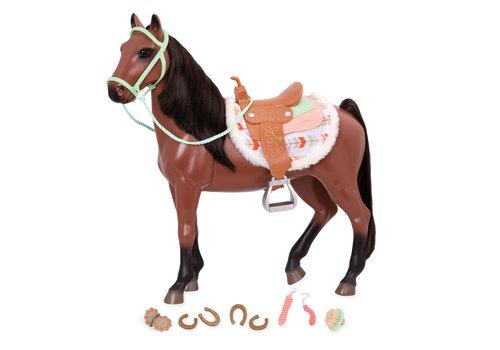 Our generation Cheval Buckskin pour poupée OG de 46 cm