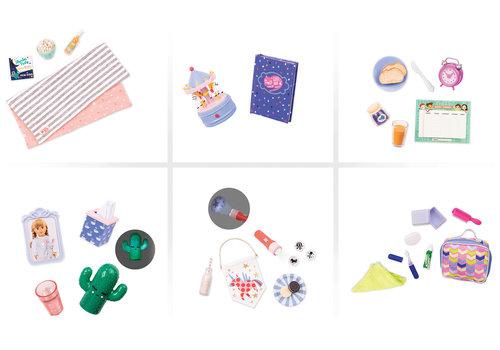 Our generation Ensemble d'accessoires-sleepover pour poupée OG assortis