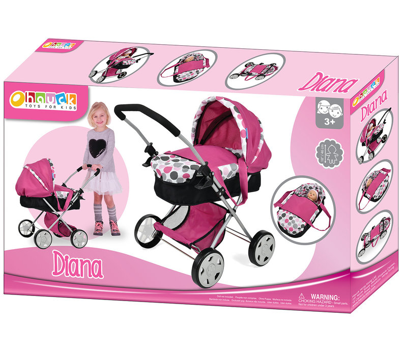 Dot Pink- Landau de luxe