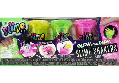So Slime DIY - 3 pots glu brille dans le noir