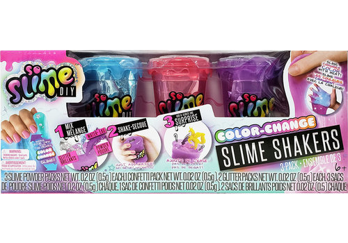 So Slime DIY - 3 pots glu couleur changeante