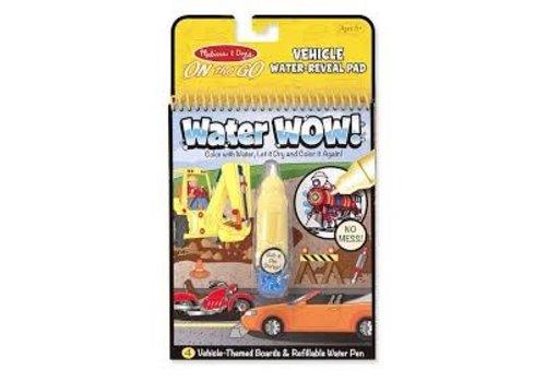 Melissa & Doug Water wow Vehicles - Dessins à l'eau véhicules