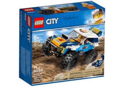 Lego City-La voiture de rallye du désert