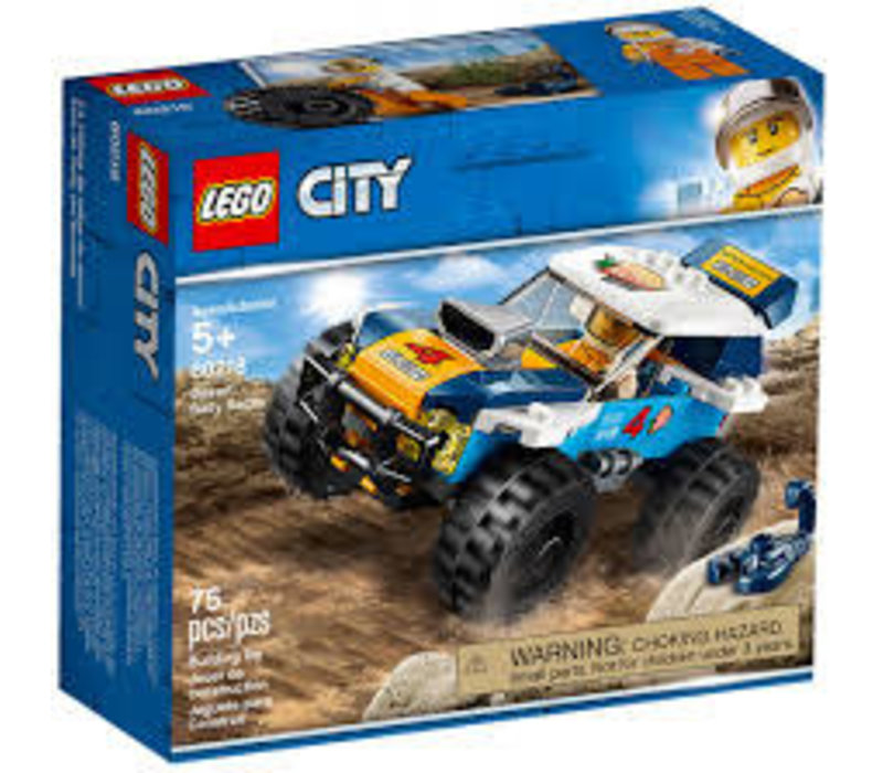 La voiture de rallye du désert