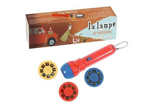 moulin roty Lampe à histoires Les petites merveilles