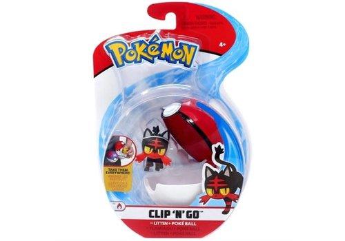Pokemon clip N go Flamiou
