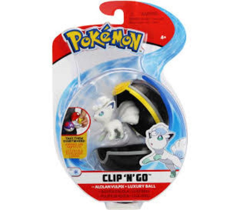 Pokemon clip n go Alolan
