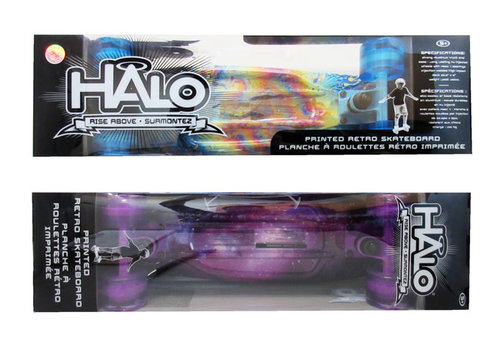 Halo 23'' Retro Skateboard