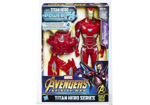 Hasbro Avenger 12'' Titan Hero Iron man