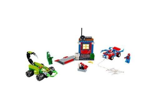 Lego Spider-Man contre Scorpion