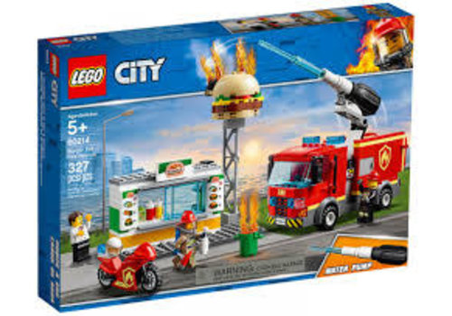 Lego City-L'incendie dans le Bar à Burgers