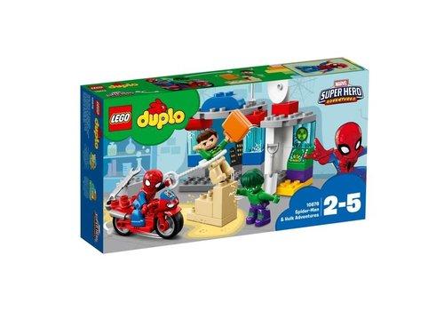 Lego Les aventures de Spider-Man et Hulk