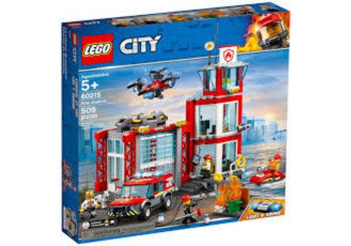 Lego La caserne de pompiers
