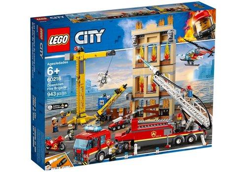 Lego Les pompiers du centre-ville