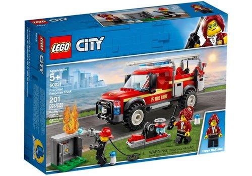 Lego Camion du chef des pompiers