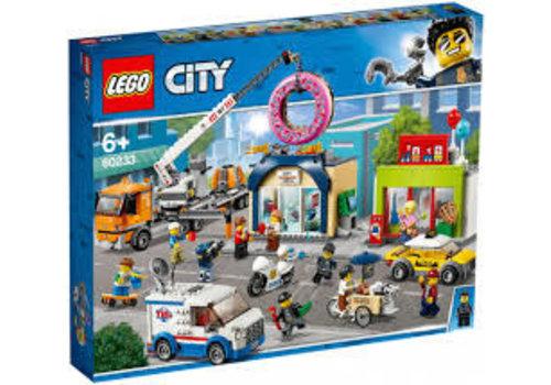 Lego City-L'ouveture de magasin de beigne